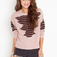 Stacked Stripe Knit - NASTY GAL