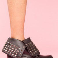 Studly Combat Boot - NASTY GAL