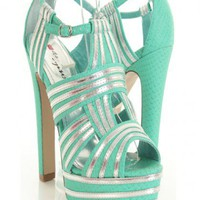 Aqua Faux Leather Snake Texture Metallic Peep Toe Platform Heels @ Amiclubwear Heel Shoes online store sales:Stiletto Heel Shoes,High Heel Pumps,Womens High Heel Shoes,Prom Shoes,Summer Shoes,Spring Shoes,Spool Heel,Womens Dress Shoes,Prom Heels,Prom Pump