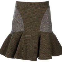 STELLA MCCARTNEY patch work skirt