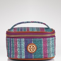 Tory Burch Train Case - Baja Stripe Mini | Bloomingdale's