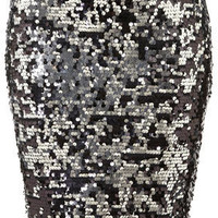 Sequin Pencil Skirt - Skirts - Apparel - Topshop USA