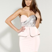 Lipsy Sequin Bust Dress