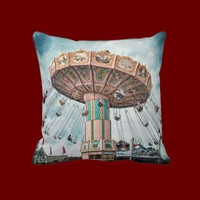 Ride the Sky Pillow from Zazzle.com