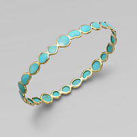 Ippolita - Turquoise and 18K Yellow Gold Bracelet