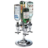 Global Decor 170 Rotating 4 Bottle 1-1/2-Ounce Drink Dispenser: Amazon.com: Kitchen & Dining