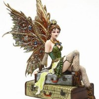 Steampunk Fairy Rebecca Air Voyage Girl Statue Figurine