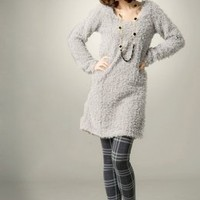 Wholesale Online Warm Winter Ladies Blouses Gray : Wholesaleclothing4u.com