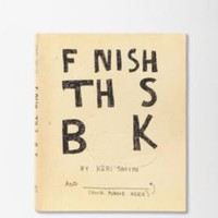 UrbanOutfitters.com > Finish This Book By Keri Smith