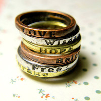 Encouragement Rings | Trinkettes