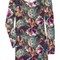 SuperTrash Deflect Floral stretch-jersey dress - 55% Off Now at THE OUTNET