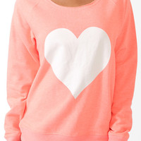 Jumbo Heart PJ Pullover