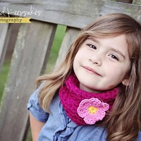 Little Girls - Crochet Cowl - Neckw.. on Luulla