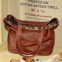 European Leopard Girls Fashion Coffee Handbags : Wholesaleclothing4u.com