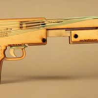 Bandit Guns – Rubber Band Shotgun | Cool Material