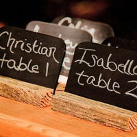mini chalkboards 75 rustic wedding chalkboards by thefunkyshack