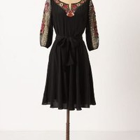 Embroidered Mirabilis Dress - Anthropologie.com