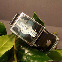 Leather Watch  Transparent by 4mLeatherDesign on Etsy