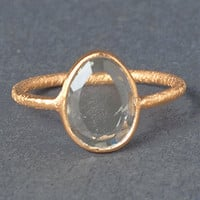 Gem Slice Citrine Ring | Rain Collection