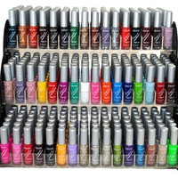 Emori (TM) All About Nail 50 Piece Color Nail Lacquer (Nail Art Brush Style) Combo Set + 3 Sets of S