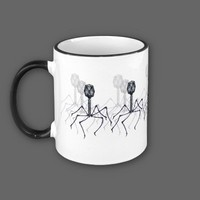 It's just a passing phage... Science mug from Zazzle.com