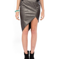 Asymmetrical Cut Off Skirt - 2020AVE