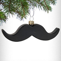 Manly Mustache Ornament | PLASTICLAND