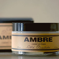 Cote Bastide Amber Body Cream
