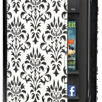 Verso Versailles Case Cover for Kindle Fire - Black/White