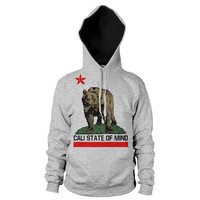 California Bear Cali State of Mind hoodie free shipping in the USA