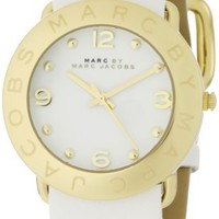 Marc by Marc Jacobs Women's MBM1150 Amy White Dial Watch