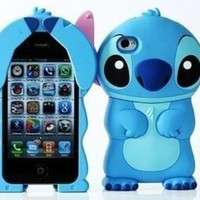 3D Stitch Hard Case for iPhone 4/4s