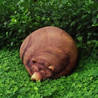 Big Sleeping Grizzly Bear Bean Bag - AIRMAIL - AFTER Christmas arrival item
