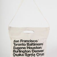 American Apparel - Bull Denim Woven Cotton Cities Bag with Strap