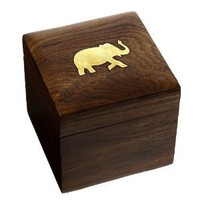 Unique Jewelry Box Wood Carved Handmade Presents for Mom: Jewelry: Amazon.com