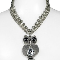 BKE Owl Pendant Necklace - Women&#x27;s Accessories | Buckle