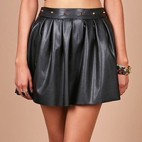 Pit Spike Skirt | Trendy Affordable Clothes at Pink Ice
