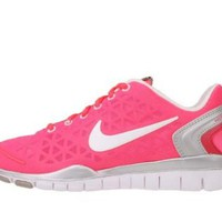 Amazon.com: Nike Free TR Fit 2 Womens Running Shoes Pink Silver: Shoes