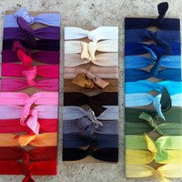 Ribbonful - Elastic Hair Ties - Choose 10 Colors-Ponytail Holders