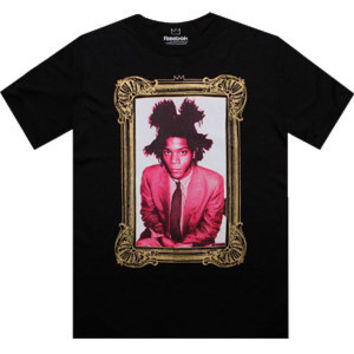 Reebok Basquiat I Am Tee (black) Apparel X64976 | PickYourShoes.com