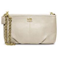 COACH MADISON LEATHER LARGE WRISTLET WITH CHAIN - Wristlets - Handbags & Accessories - Macy's