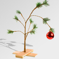 Charlie Brown Christmas Tree | Charlie Brown Tree | fredflare.com