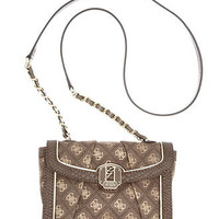 GUESS Handbag, Florrie Crossbody Flap - Handbags & Accessories - Macy's