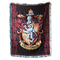 Harry Potter Exclusive Gryffindor Crest Tapestry Throw: WBshop.com - The Official Online Store of Warner Bros. Studios