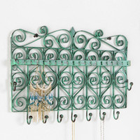 Scrollwork Gate Jewelry Stand