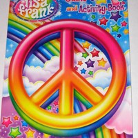 Lisa Frank A Magical World Giant Coloring and Activity Book