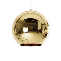 Heal's | Copper Bronze Round Pendant Light by Tom Dixon > Pendants