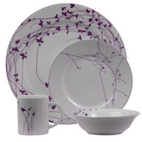 Heal&#x27;s | Heal&#x27;s Zephyr Plum Dinnerware &gt; Xmas Tableware and Glasses