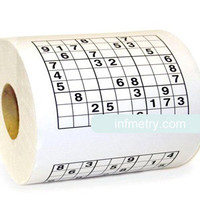 INFMETRY:: Sudoku Toilet Paper - Home&Decor