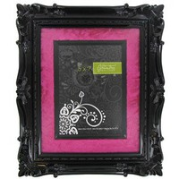 http://shop.hobbylobby.com/products/5-x-7-black-frame-with-hot-pink-velvet-mat-390799/